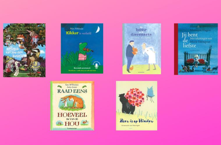 Valentijnsdag prentenboeken