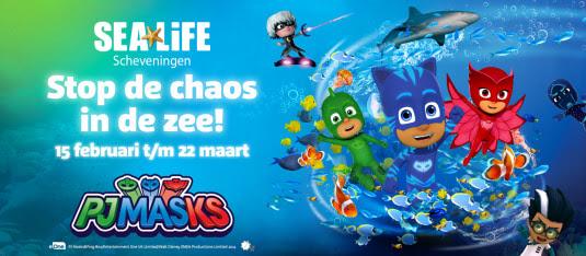 PJ Masks in Sea Life Scheveningen