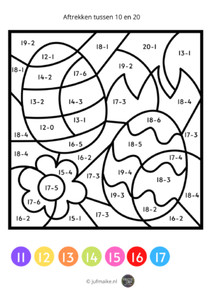 Kleuren op code groep 3