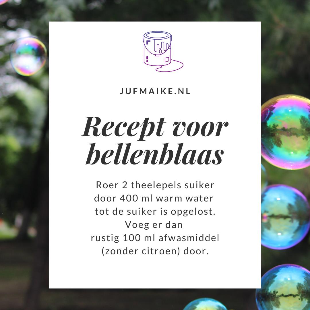 Bellenblaas recept