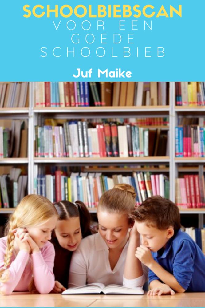 Schoolbiebscan voor een goede schoolbibliotheek