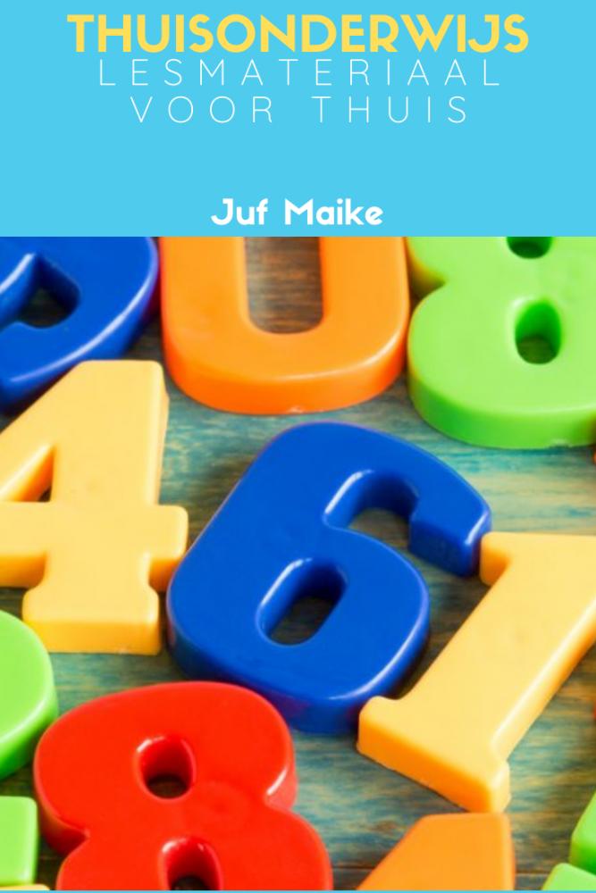 Thuisonderwijs lesmateriaal; Spelend leren met magneetdozen, rekenspellen en knutselen