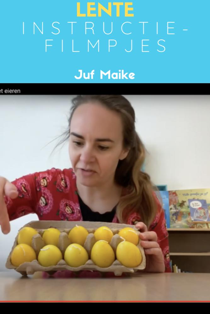 Instructiefilmpjes thema lente voor kleuters