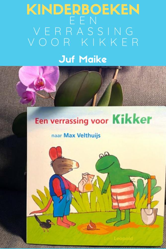 Kinderboeken Een verrassing voor Kikker van Max Velthuijs