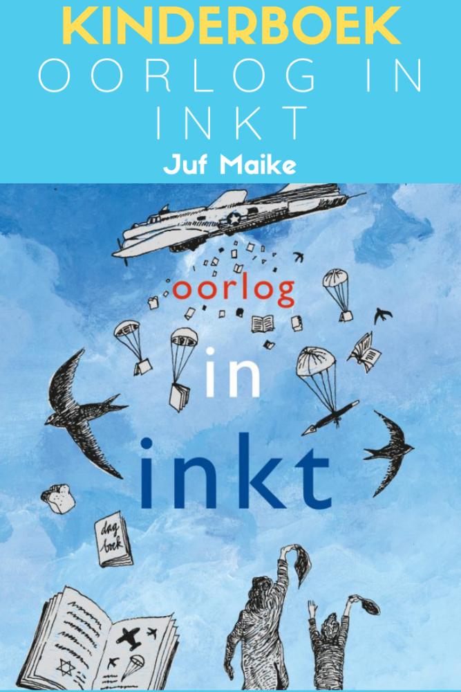 Oorlog in inkt -  Annemarie van den Brink & Suzanne Wouda; 75 jaar bevrijding na tweede wereldoorlog