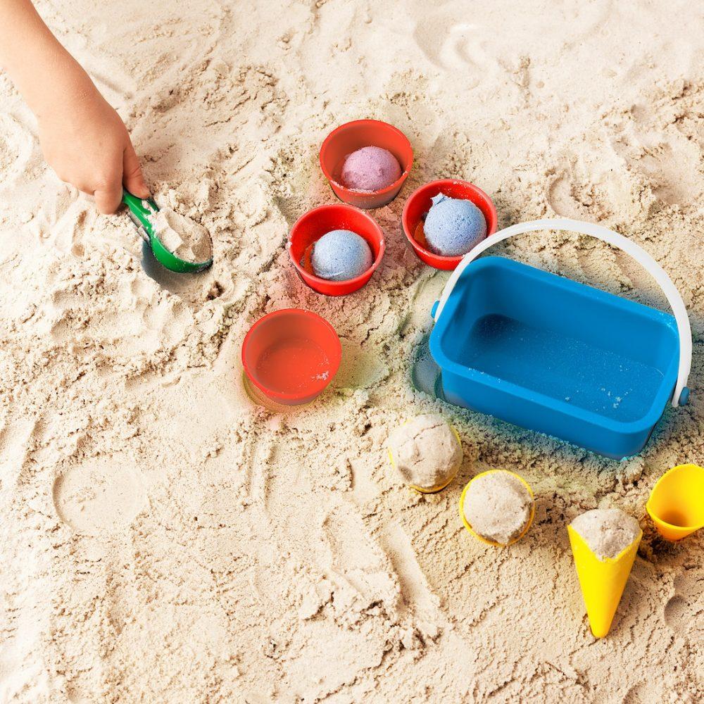 Ijsjesset zand