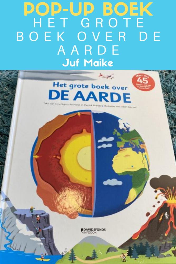 Het grote boek over de aarde; Pop-up boek over de geschiedenis van de aarde