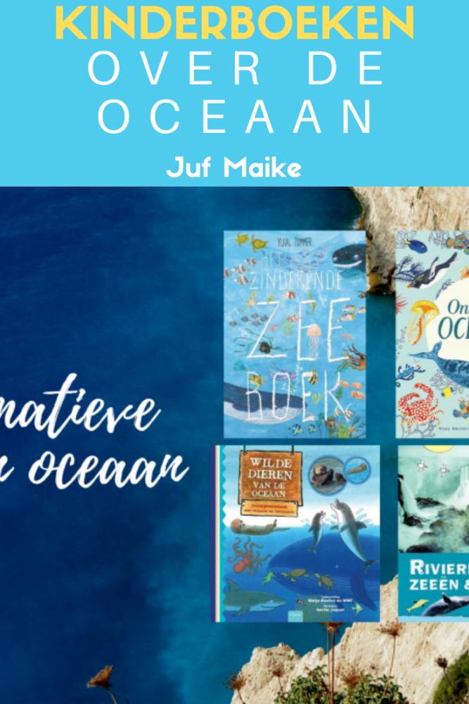 Informatieve boeken over de oceaan voor midden- en bovenbouw