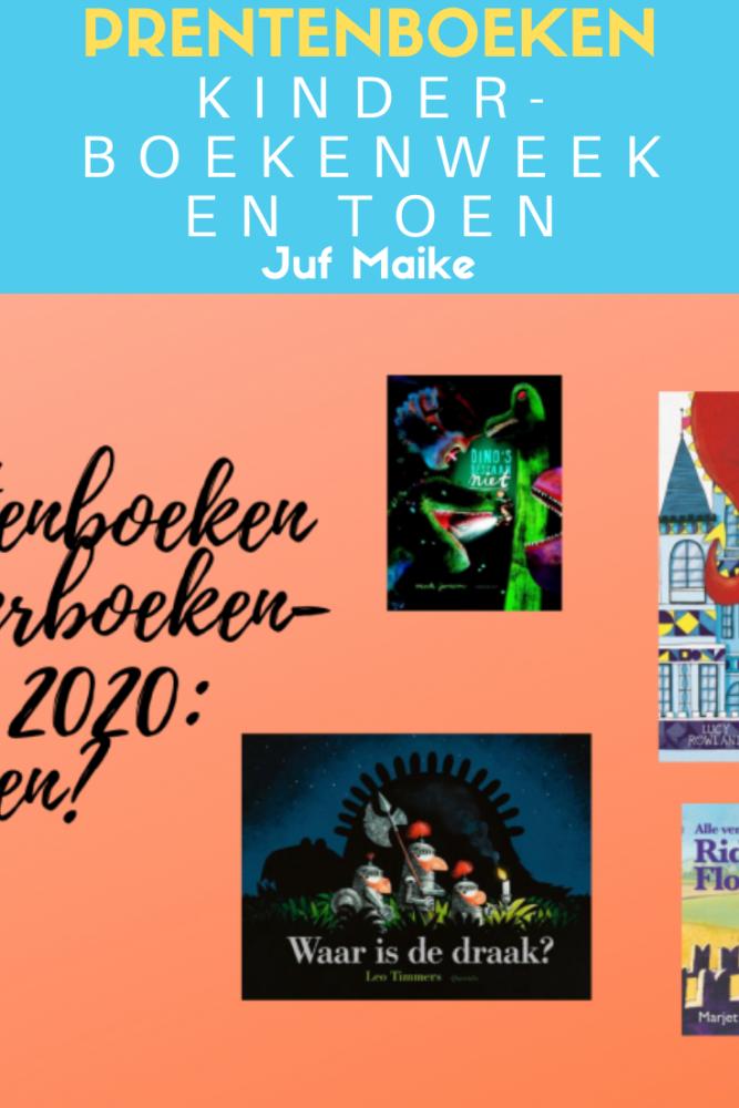 Prentenboeken Kinderboekenweek 2020 En toen?