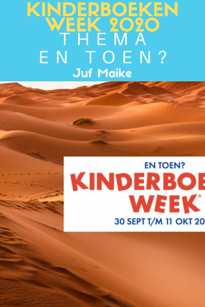 Kinderboekenweek 2020 thema en toen; Geschiedenis