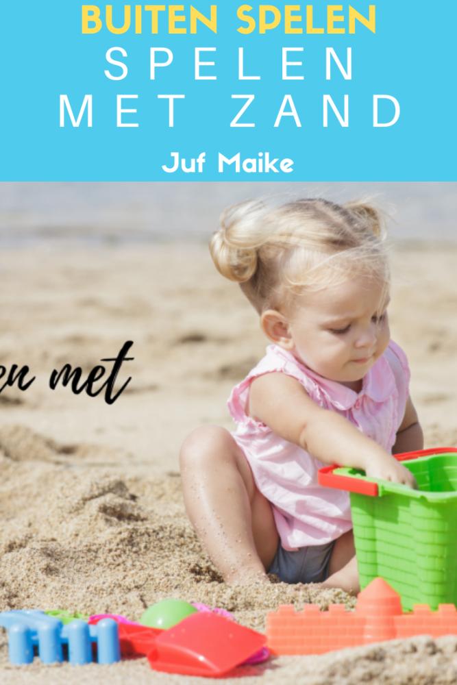 Buiten spelen; Waarom spelen met zand goed is voor de ontwikkeling van een kind