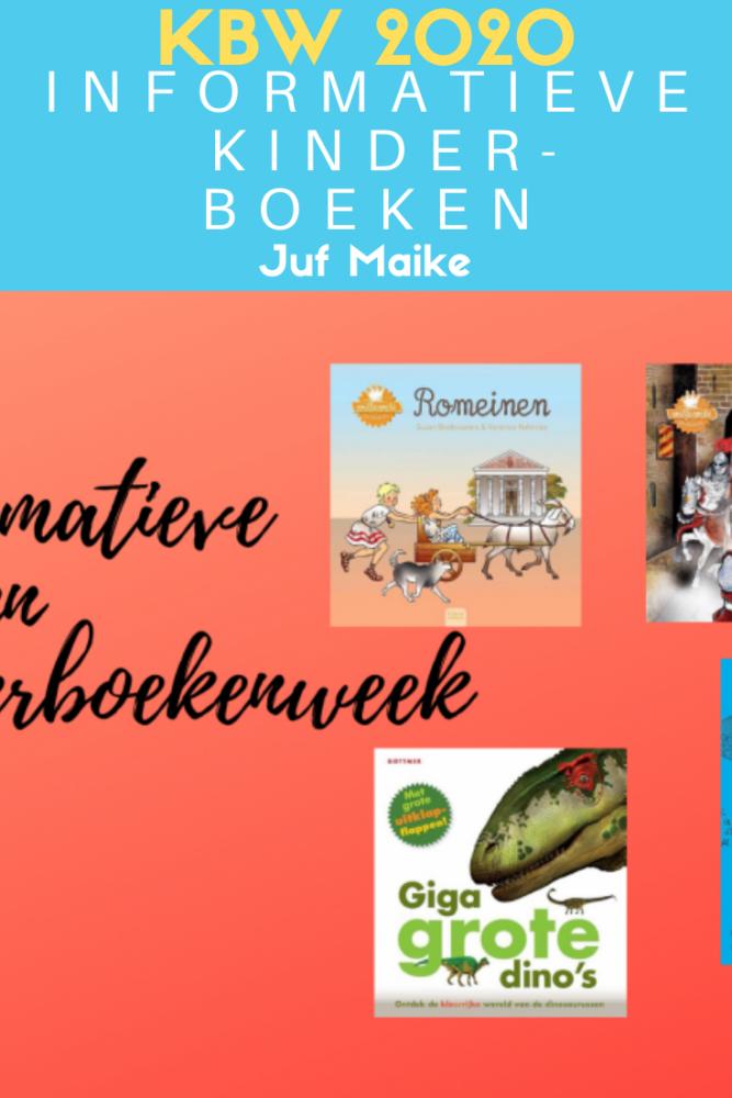 Informatieve kinderboeken passend bij kinderboekenweek 2020 thema En toen?