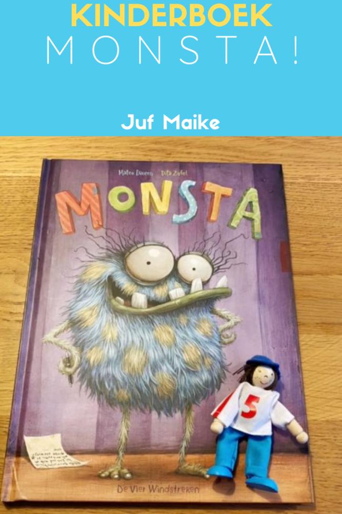 Kinderboek Monsta door Dita Zipfel