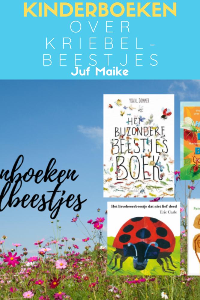 Leuke prentenboeken en kinderboeken over kriebelbeestjes