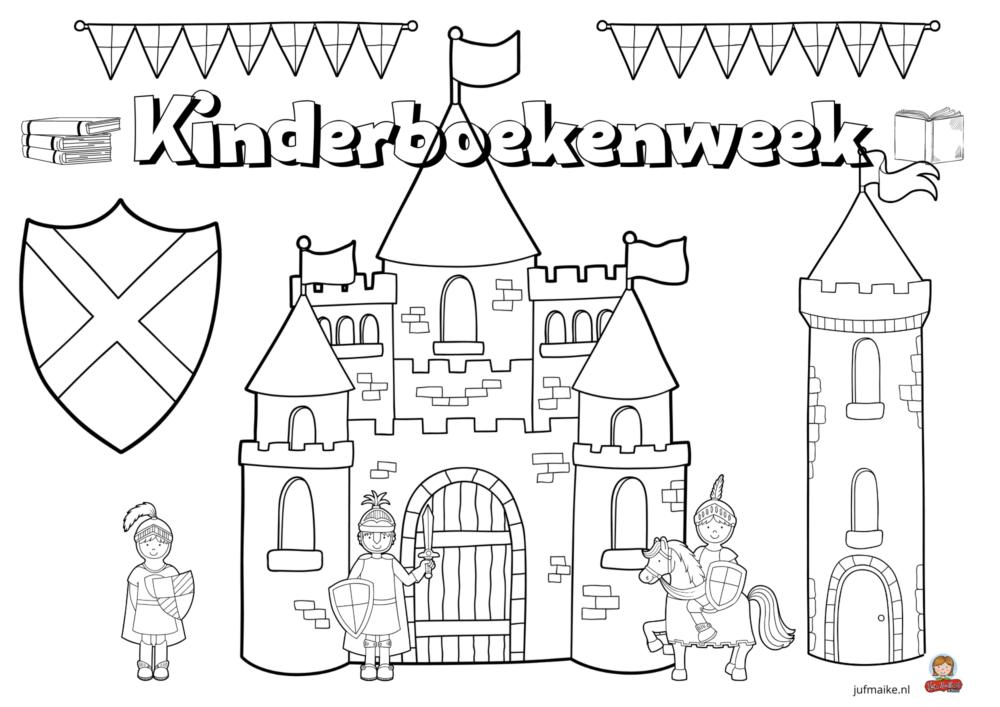 Kleurplaat Kinderboekenweek 2020