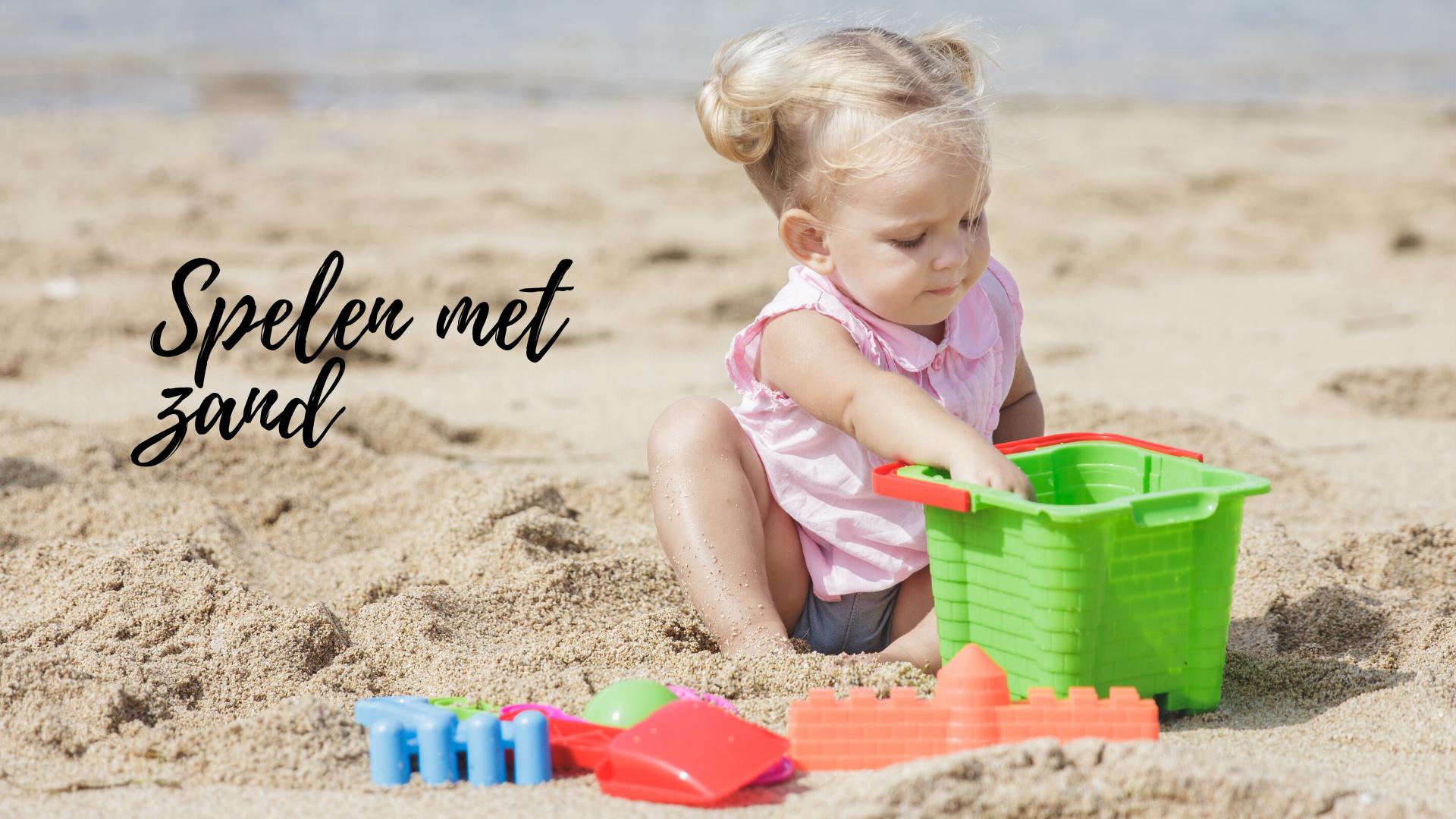 Spelen met zand, waarom