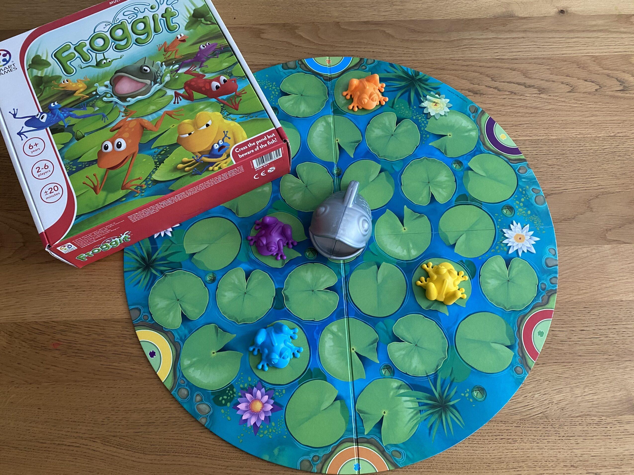 Froggit Smartgames spel: WIN!