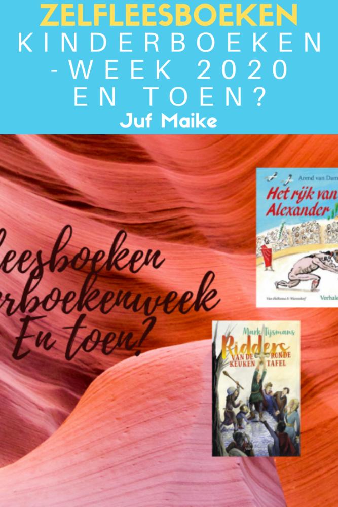 Zelfleesboeken passend bij kinderboekenweek 2020 thema En toen?