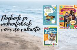 Doeboek en vakantieboek voor de vakantie