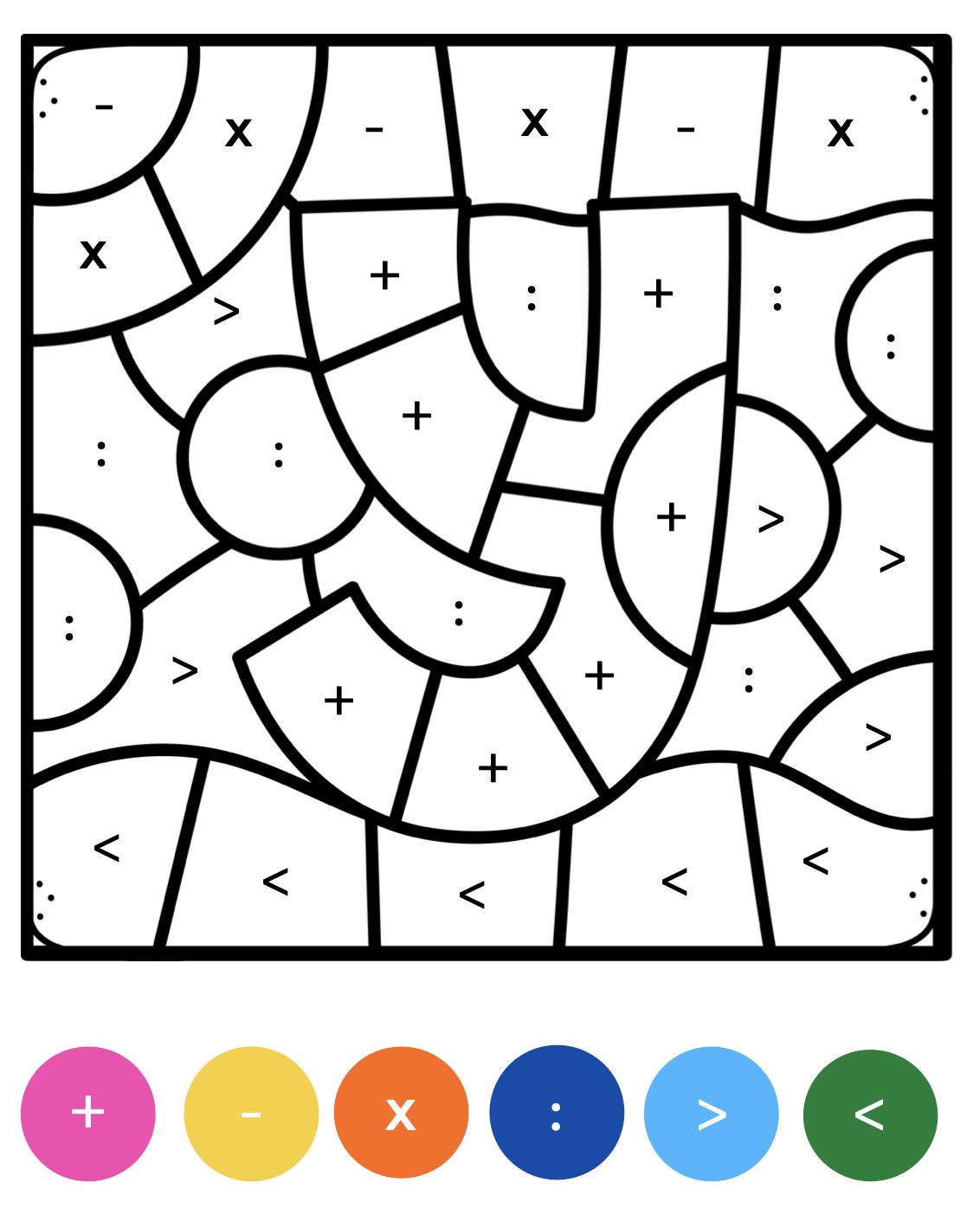 Kleuren op code letters