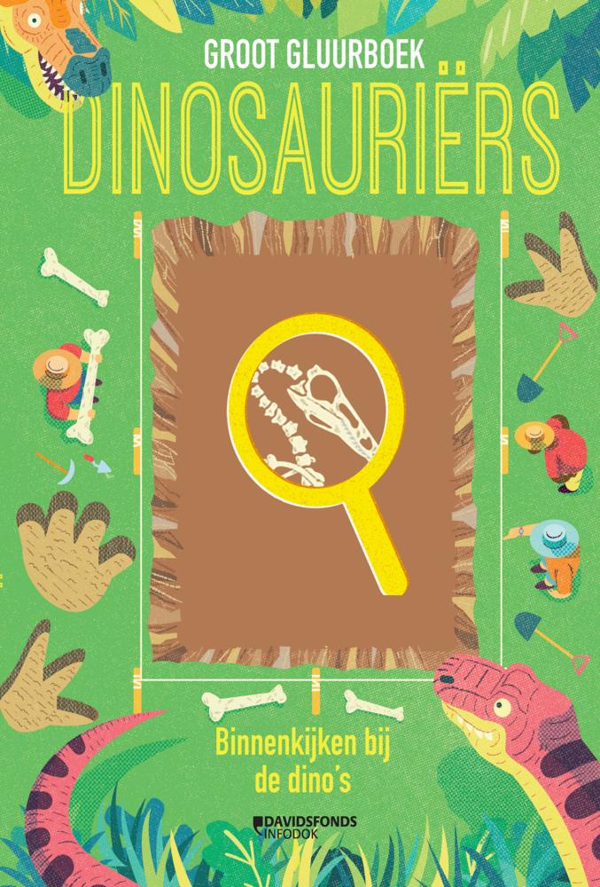 Van de angstaanjagende tyrannosaurus rex tot de gepantserde ankylosaurus: dinosaurussen waren wilde wezens die miljoenen jaren geleden de aarde afstruinden. Omdat dinosaurussen lang geleden leefden en uitstierven, hebben we nu alleen nog maar hun fossielen om ze te bestuderen. Gebruik het magische vergrootglas om diep te graven in de wereld van de dinosaurus. Ontdek zelf verbazingwekkende dingen bij het opgraven ven een dino!
