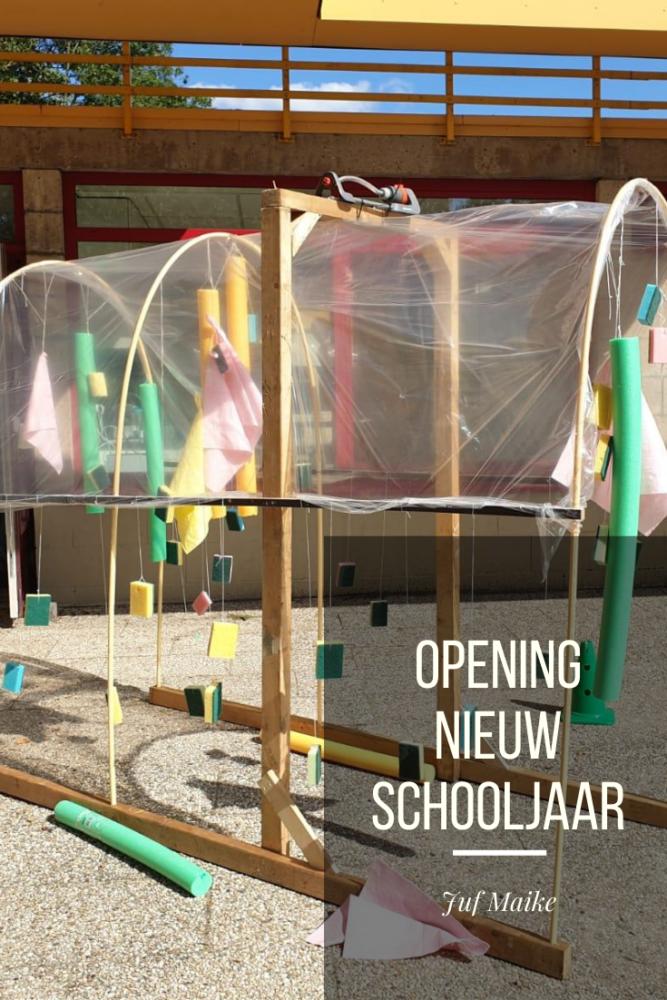 Opening nieuw schooljaar