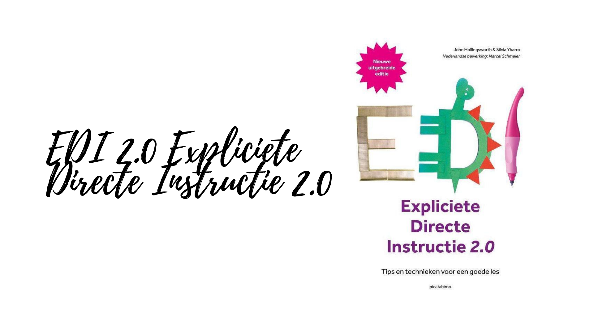 EDI 2.0 Expliciete Directe Instructie 2.0