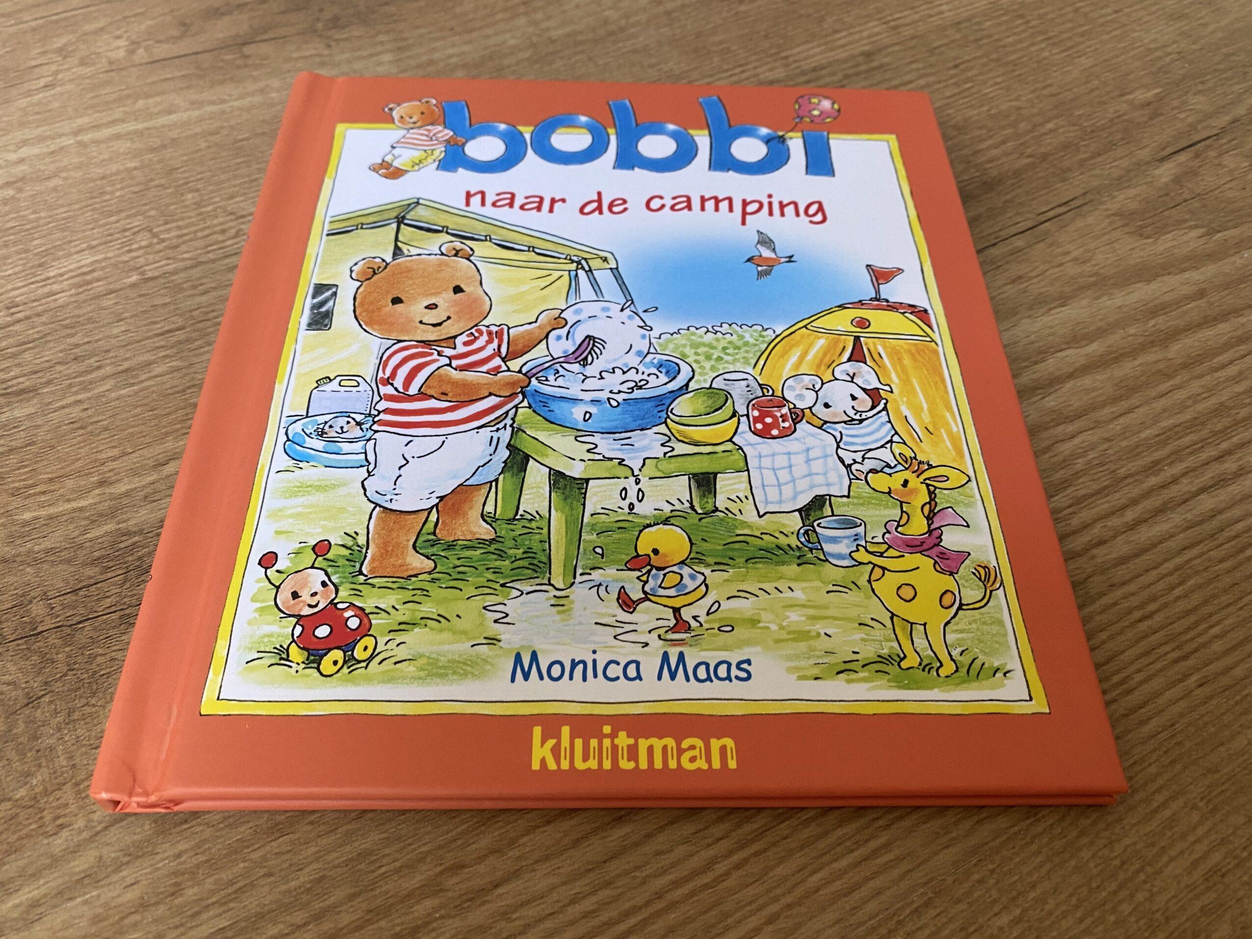 bobbi naar de camping WIN