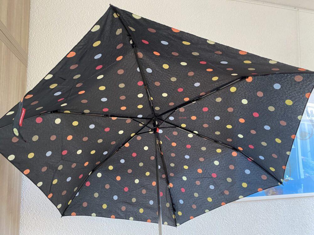 Handige paraplu tegen de regen