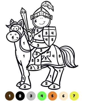 Kleuren op code ridders