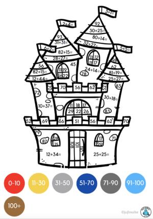 Kleuren op code ridders groep 4