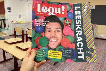 Lequ, een nieuw magazine voor kinderen over lezen