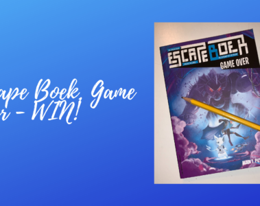 Escape Boek, Game Over - WIN!