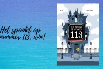 Het spookt op nummer 113, win!