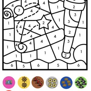 Kleuren op code Piraten