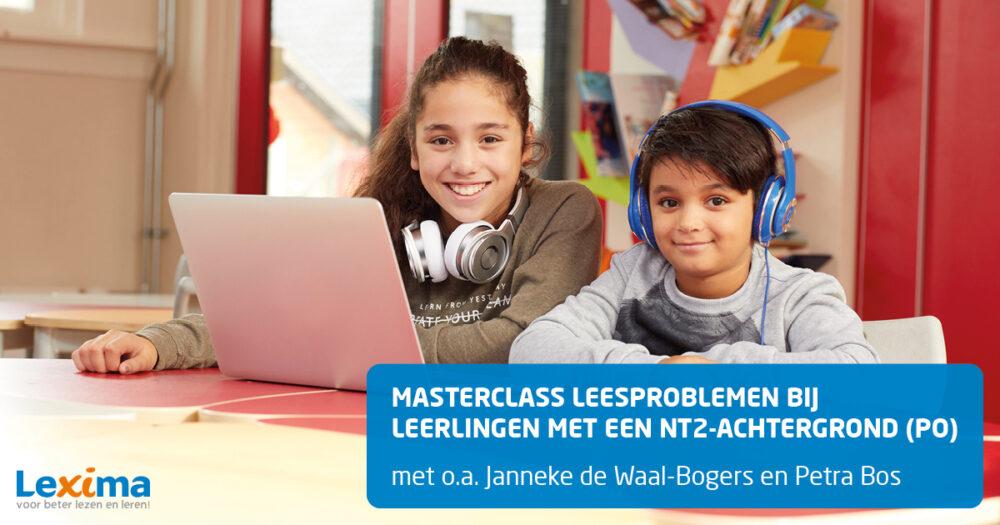 Masterclass Leesproblemen bij leerlingen met een NT2-achtergrond (PO)