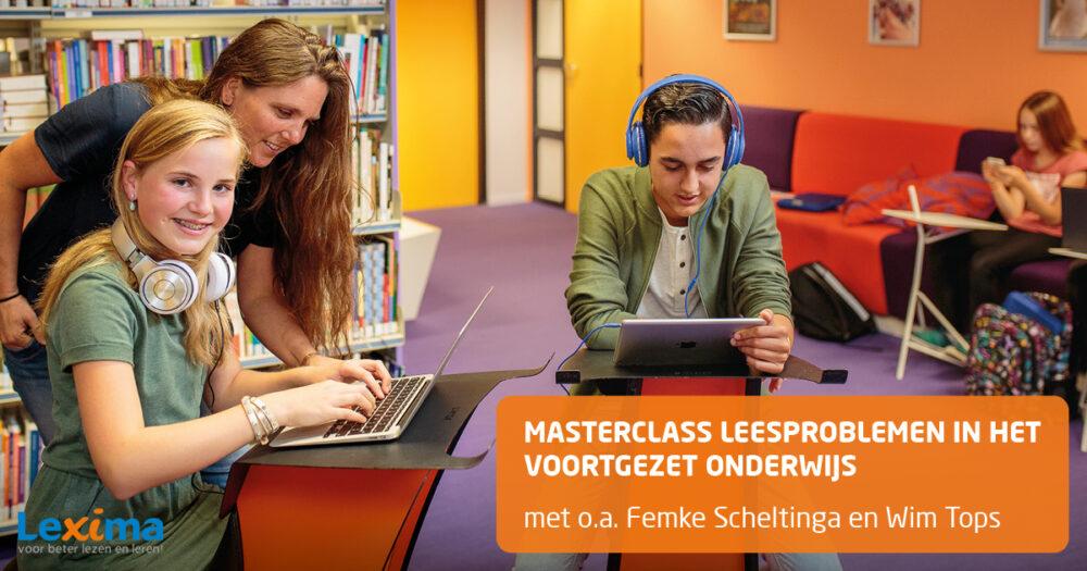 Masterclass Leesproblemen in het voortgezet onderwijs
