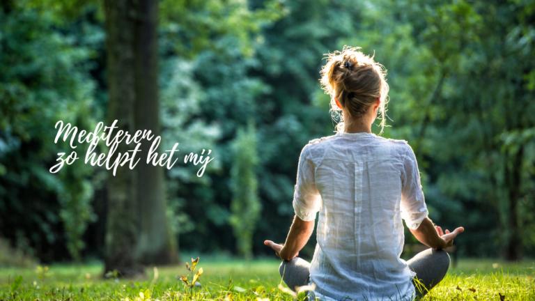Mediteren, zo helpt het mij