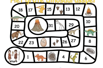 Dinosaurussspel middenbouw