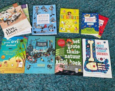Doeboeken 2021 of vakantieboeken