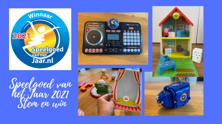 Speelgoed van het Jaar 2021 Stem en win