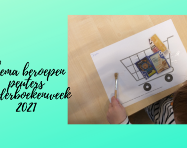 Thema beroepen peuters Kinderboekenweek 2021